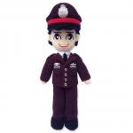 ตุ๊กตาถักตำรวจผู้ชาย
