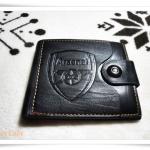 กระเป๋าสตางค์หนังแท้ ลายทีมฟุตบอล Arsenal P001