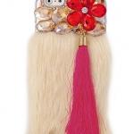 เคส iPhone 6 4.7 นิ้ว เคส Diy 3 มิติ ติดคริสตัล ดอกไม้ สีแดง ดอกใหญ่ แต่งพู่ สีชมพู เคส เก๋ ๆ สำหรับ สาว สุดชิค 454079_5