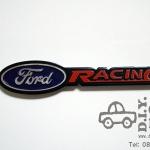 โลโก้อลูมิเนียม Ford Racing ตัวเล็ก