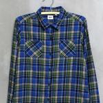 เสื้อเชิ้ตลายสก็อตแบรนด์ Uniqlo ไซส์ M