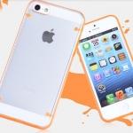 เคส iphone 5 5s นวัตกรรมใหม่ เคสเรืองแสง สีส้ม shell neon no 856009