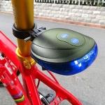 (พร้อมส่ง) ไฟท้ายจักรยาน สีน้ำเงิน