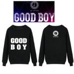 เสื้อฟรีสแขนยาว bigbang good boy WY200 [black]