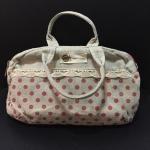 กระเป๋าผ้าใบเล็ก ใส่ได้ 2 ช่อง น่ารักมากๆ ภาพถ่ายสินค้าจริงค่ะ