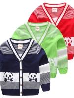 เสื้อผ้าเด็ก เสื้อเด็กชาย เสื้อไหมพรมเด็กชาย เสื้อสเวทเตอร์ไหมพรม