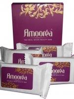 สบู่อามัวร์เร่ Amoorea ยกกล่อง 4 ก้อนราคาพิเศษ สบู่โคลนมหัศจรรย์ ยกกระชับผิว คืนความเต่งตึง ลดรอยตีนกา