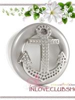 Bath & Body Works - Slatkin & Co / Scentportable Holder (Bling Anchor)