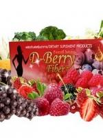 ดี เบอร์รี่ ไฟเบอร์ D-Berry Fiber ดีท๊อกซ์ลำไส้ได้อย่างสะอาดหมดจรด ผิวพรรณสดใส หุ่นสวยเพรียวบาง สุขภาพดีครบสูตร