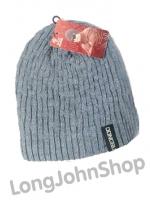 หมวกไหมพรมกันหนาว สีเทา