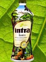 น้ำผลไม้อินทรา intra ผลิตภัณฑ์เสริมอาหาร สารสกัดของเหลวจากพฤกษาชาติ เสริมสร้างภูมิคุ้มกัน ขับสารพิษ ช่วยลดระดับน้ำตาล บำรุงและบำบัดร่างกาย