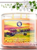 Bath & Body Works Slatkin & Co / Candle 14.5 oz. (Napa Valley Sunset)