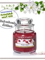Yankee Candle / Small Jar Candle 3.7 oz. (Berry Trifle)