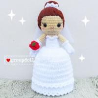 ตุ๊กตาถัก แต่งงาน