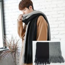 ผ้าพันคอไหมพรม เกาหลี มิกกับชุดไหนก็สวย ใส่ได้ทั้งผู้ชายและผู้หญิง พร้อมส่ง