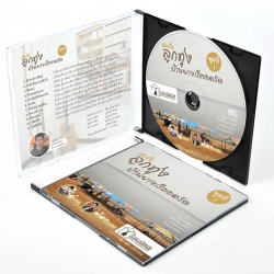 รับออกแบบ ปกCD / DVD