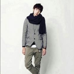 ผ้าพันคอไหมพรม เกาหลี สีดำ มิกกับชุดไหนก็สวย ใส่ได้ทั้งผู้ชายและผู้หญิง พร้อมส่ง