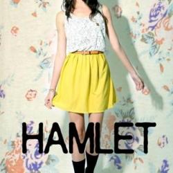 พร้อมส่ง - Hamlet เดรส…ช่วงบนผ้าลูกไม้ ช่วงล่างผ้าสีพื้น สีเหลือง