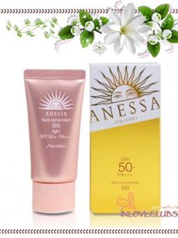 Shiseido / Anessa Face Sunscreen BB SPF50+ PA+++ 30 g. (# Light) *กล่องครบ