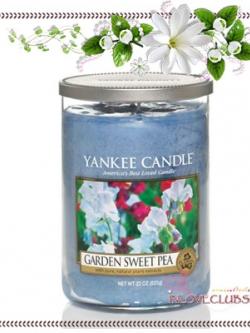 Yankee Candle / Large Tumbler Candle (2-wick) 22 oz. (Garden Sweet Pea)