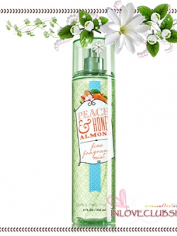 Bath & Body Works / Fragrance Mist 236 ml. (Peach & Honey Almond) *Limited Edition
