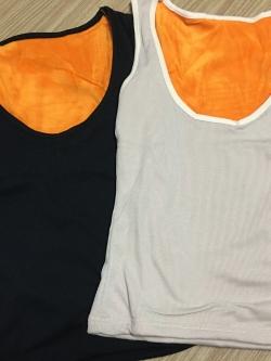 ลองจอน แบบเสื้อกล้าม บุขนสั้นด้านใน เข้ารูป พร้อมส่ง