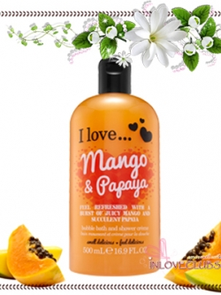 I Love... / Bubble Bath & Shower 500 ml. (Mango & Papaya)