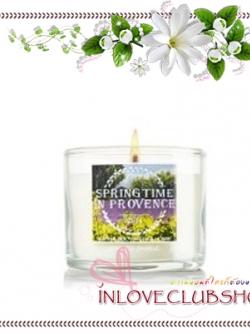 Bath & Body Works Slatkin & Co / Mini Candle 1.3 oz. (Springtime In Provence)
