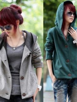 เสื้อคลุมกันหนาว ฮู้ดดี้ ทรงน่ารัก เลือกสีที่พร้อมส่งด้านในเลยจ้า