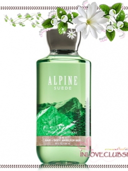 Bath & Body Works / 2-In-1 Hair And Body Wash 295 ml. (Alpine Suede) *For Men