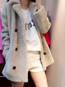 Fur Hoodie เสื้อกันหนาวขนแน่น นุ่มมาก น้ำหนักเบา งานฟูๆตามแบบเลยจ้า พร้อมส่ง