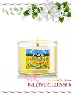 Bath & Body Works Slatkin & Co / Mini Candle 1.3 oz. (Lemon Verbena)