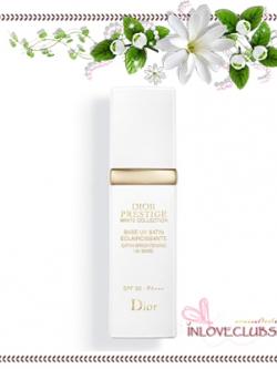 Christian Dior / Prestige White Satin Brightening UVB Base SPF50 PA+++ 30 ml. *Tester กล่องขาว ขนาดปกติ