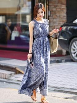 Maxi Dress แม็กซี่เดรสยาว ทรงสวยหวาน ผู้ดีมากค่ะ พร้อมส่ง