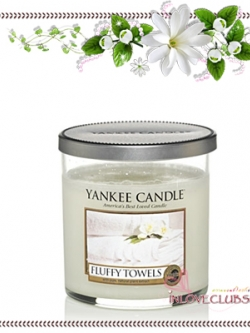 Yankee Candle / Small Tumbler Candle (single wick) 7 oz. (Fluffy Towels)