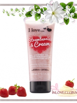 I Love... / Exfoliating Shower Smoothie 200 ml. (Strawberries & Cream)