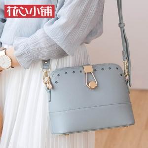 กระเป๋าสะพาย สีเทา-Axixi