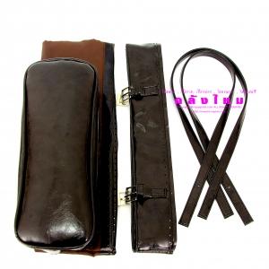 ชุดกระเป๋าหนังสายเข็มขัด