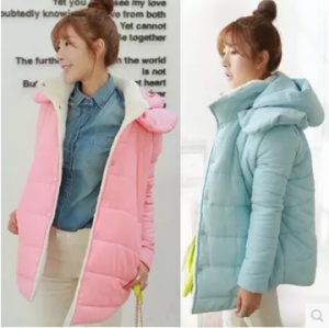 เสื้อกันหนาวฮู้ดดี้ ขนๆ ด้านใน น่ารัก ผ้าดีนิ่มมากๆ กันหนาวได้ดีเลยค่ะ พร้อมส่ง ถอดฮู้ดได้