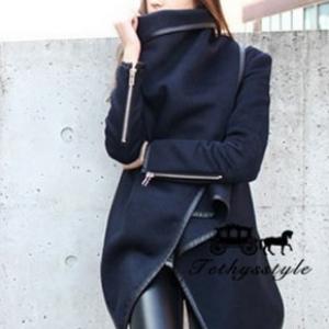 European style woolen เสื้อคลุมกันหนาวผ้าเนื้อดี ทรงสวย ใส่ได้หลายแบบ พร้อมส่งเลยน้าา