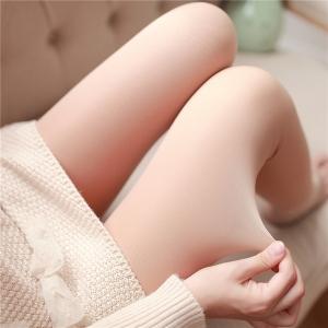 Legging เลกกิ้งกันหนาว สีเนื้ออ่อน ด้านในเป็นขนหนานุ่ม ด้านนอกเป็นผิวแบบถุงน่อง ยืดได้เยอะ กระชับทรง คลุมส้นเท้ งานเหมือนแบบ 100% จ้า พร้อมส่งเลยจ้า