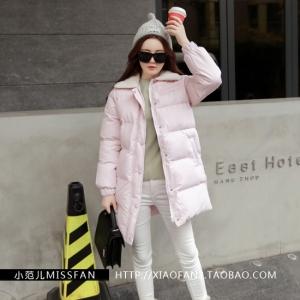 เสื้อกันหนาว สีชมพูลายจุด หวานๆ แต่งผ้าขนแกะที่คอปกเสื้อ ผ้าร่มเนื้อดีกันลม ซิปหน้า+กระดุม น่ารัก เกาหลีมากๆ พร้อมส่งเลยจ้า