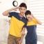 ชุดคู่รักเกาหลี พร้อมส่ง เหลืองกรม น่ารัก ราคา/คู่ thumbnail 2