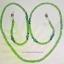 (ขายแล้วค่ะ) M05 สายคล้องแว่นตา คริสตัลโมดาร์ (เขียว) thumbnail 1