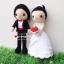 """ตุ๊กตาถัก คนแต่งงาน 9"""" (5) thumbnail 2"""