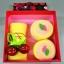 เค้กโรลผ้าขนหนู เซอร์ไพร์สวันพิเศษ (วันเกิด,วันวาเลนไทน์,วันแห่งความรัก) สีเหลือง thumbnail 2