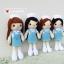 """ตุ๊กตาถัก พยาบาลนักศึกษา ฝึกงาน 9"""" thumbnail 3"""