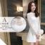 Dress3769 ชุดเดรสลูกไม้แขนยาวสีขาวงานเกรดพรีเมียม อกซีทรู คอแต่งลูกไม้ฉลุ มีซับในอย่างดีทั้งชุด ซิปหลัง งานผ้าลูกไม้อัดผ้ากาวเนื้อหนาสวยอยู่ทรง งานสวยหรูดูแพงสุดๆ แนะนำเลยจ้า thumbnail 18