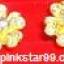 E05 ต่างหู รูปดอกไม้ (ขายแล้วค่ะจากที่เดิม Pinkstar99.weloveshopping) thumbnail 1