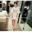 เสื้อตัวยาว/ mini dress สุดน่ารัก ผ้า cotton เนื้อนุ่มแต่งระบายหวานๆ thumbnail 15